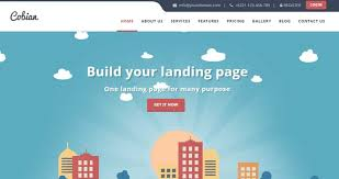 landing page templates for blogger 25 best wordpress landing page themes to improve conversion rates