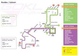 Green Line Map Gokl Free City Bus Service Tips Wonderful Malaysia