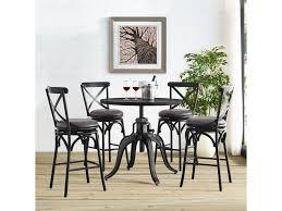pulaski furniture ds d075 bar and game room x back metal