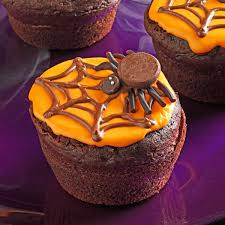 Cake Recipes For Halloween Creepy Cupcakes Recipe Taste Of Home
