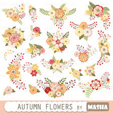 Fall Flowers For Wedding Autumn Flowers Clipart Autumn Flowers With Fall
