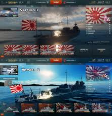 Japanese Flag Rising Sun Japan Rising Sun Flag Mod World Of Warships Mod