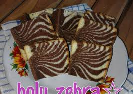 tips membuat bolu zebra resep bolu zebra panggang oleh ahmad cookpad