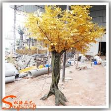 Wedding Wishes Tree Fake Artificial Large Golden Wedding Wishing Tree Decorative Trees