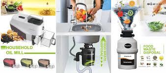 Home Biogas Plant Waste ChopperMacerator - Kitchen sink macerator