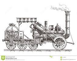 train vector logo design template steam illustration 51279910