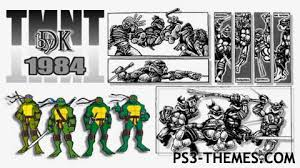 themes about 1984 ps3 themes tmnt 1984 by dk