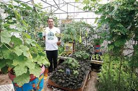 philippines baguio launches backyard gardening contest urges