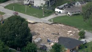 Map Of Sinkholes In Florida by Scope Of Florida Sinkhole Captured On Video Nbc News