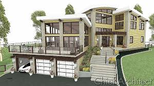 sloping lot house plans house plan awesome house plans on hill slopes house plan on a