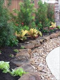 Bush Rock Garden Edging 37 Garden Edging Ideas How To Ways For Dressing Up Your Landscape
