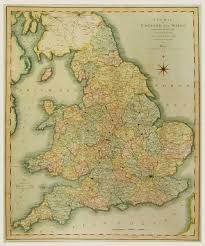 Map Of England And Wales by Map Of England And Wales 1815