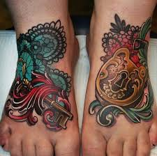lock and key tattoos 20 excellent lock and key tattoos