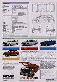 Civic 1980 1980 81 Honda Civic Brochure