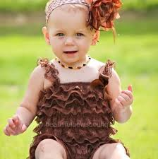 beautiful bows boutique buy brown baby lace romper online at beautiful bows boutique