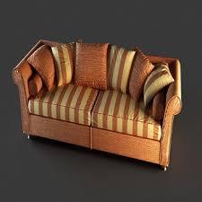 Leather Sofa Cushions European Leather Sofa Cushions Household 3d Models 3d Model
