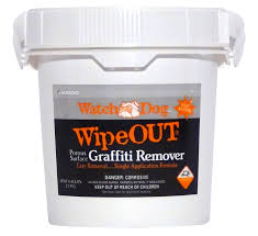 wipe out porous surface grafitti remover from dumond chemicals inc