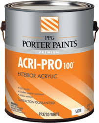 exterior paints from ppg porter paints