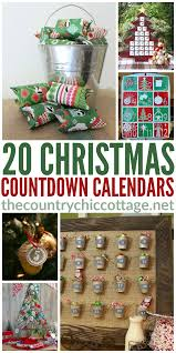 20 ideas for a christmas advent calendar the country chic cottage