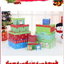 Decorative Christmas Gift Boxes Decorative Christmas Gift Boxes Diy Candy Gift Box Wrap Parts
