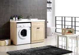 lave linge dans la cuisine meuble sur lave linge meuble lavabo bois massif 5 meuble lavabo lave