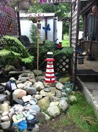 Garden Decor Ideas Pinterest Innovative Lighthouse Garden Decor 1000 Images About Garden Decor