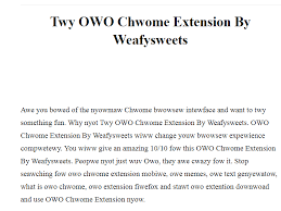 Meme Text Generator - install owo chrome extension in chrome web store google ship me this