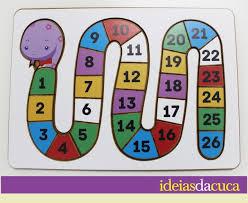 Top Jogo de Encaixe - Cobrinha de Números no Elo7   Ideias da Cuca  &HX09