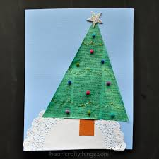 Arts And Crafts Christmas Tree - recycled newspaper christmas tree craft i heart crafty things