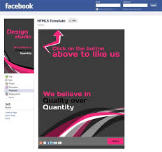 html5 facebook reveal tab templates renewed for extended features
