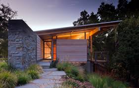 Shed Style House by Halls Ridge Knoll Guest House Bohlin Cywinski Jackson Archdaily