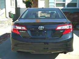 toyota camry trunk 2012 toyota camry se trunk features youtube
