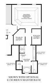 The Azure Floor Plan by Master Bathroom Floor Plans With Walk In Shower Best Azure At