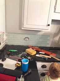 adding a kitchen backsplash frustrations tutorial megmade