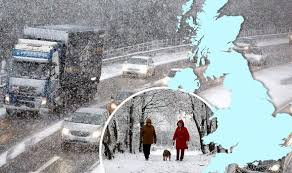 uk weather forecast snow set for kent and cornwall on coldest