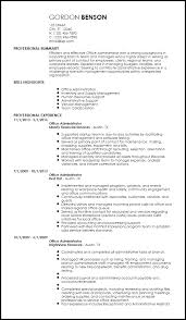 free creative office administrative resume template resumenow