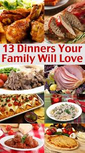 easy family menu ideas dinners your family will