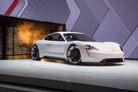 tesla supercar concept porsche exec unlike tesla model s mission e can be pushed to the
