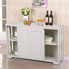 kitchen buffet storage cabinet amazon com go2buy antique white stackable sideboard buffet storage