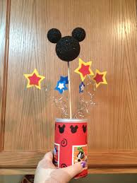 mickey mouse clubhouse centerpieces learning how to one day at a time diy mickey mouse