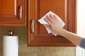 How To Clean Kitchen Cabinet Doors How To Clean Wood Cabinets Diy Inside Kitchen Designs 6