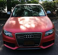 light pink audi matte metallic gray plasti dipped my whole car page 5