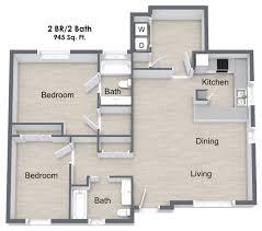 floor plan 2 bedroom apartment 2 bed 2 bath apartment in beaumont tx woodlands of beaumont