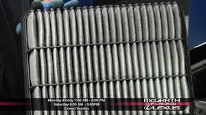lexus ls430 ac filter engine air filter maintenance mcgrath lexus of chicago at 1250 w