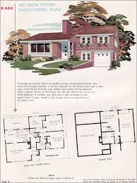 multi level home plans modern split level house plan from 1955 national plan service