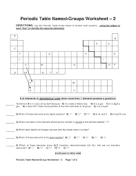 chemistry periodic table worksheet answer key periodic table worksheet key classroom pinterest periodic