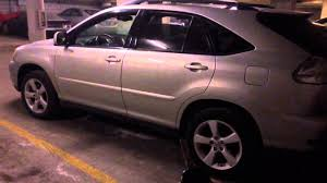 lexus rx330 wheel lock key 2005 lexus rx330 awd back door youtube