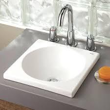White Drop In Bathroom Sink Bathroom Small Sinksround Small Drop In Sink Design Small Bathroom