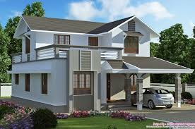 marvellous 2000 sq ft double storeyed villa design