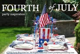 Fourth Of July Table Decoration Ideas Ideas For A Fourth Of July Party Table